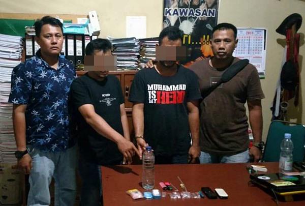 Asik Pesta Shabu di Bekas Kantor BPN, 2 Pemuda Diamankan Polisi