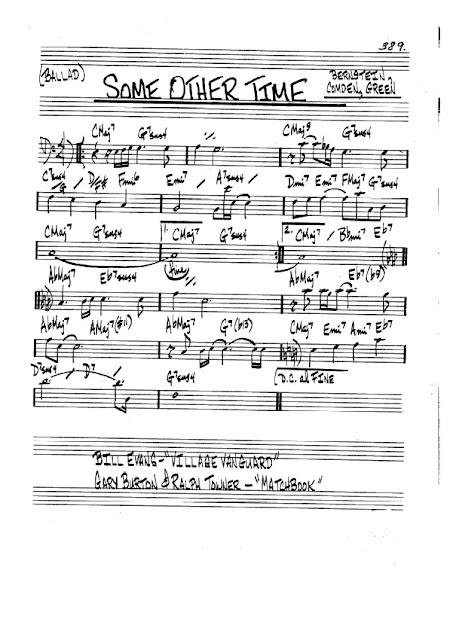 Partitura Bajo Bernstein, Comden, Green