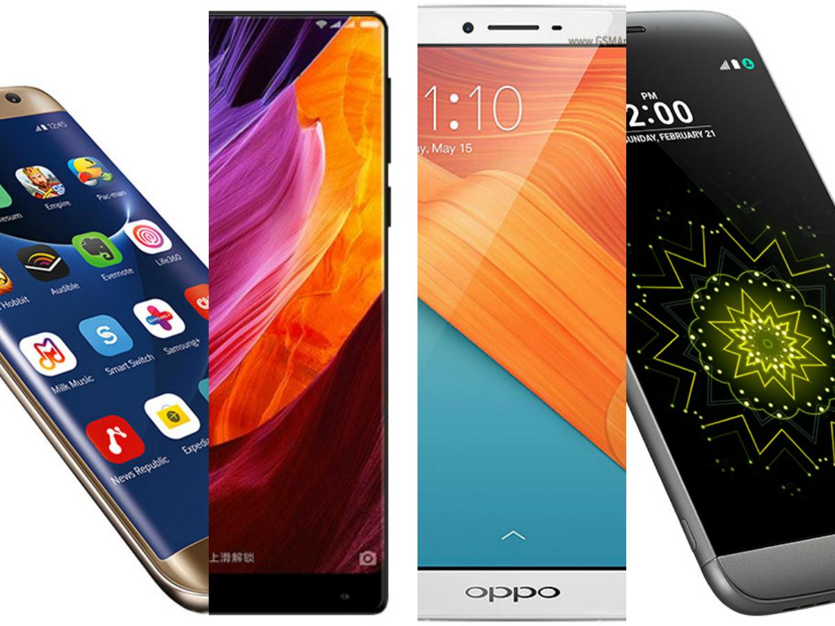 Top 5 Bezel-less Display Smartphones From Samsung,Mi,Oppo,ZTE,Sony To buy in 2017