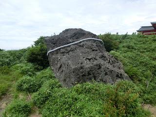 箱根元宮・馬降石