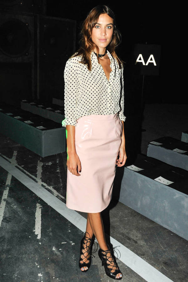 Alexa Chung, Alexa Chung Style, Alexa Chung Fashion,  Alexa Chung Look For Less