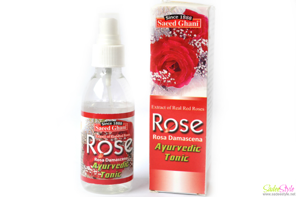 Saeed Ghani Rose Water