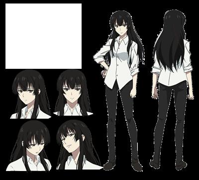 คุโจ ซากุระโกะ (Kujo Sakurako) @ Beautiful Bones: Sakurako's Investigation สืบจากกระดูก