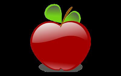 clipart buah apel