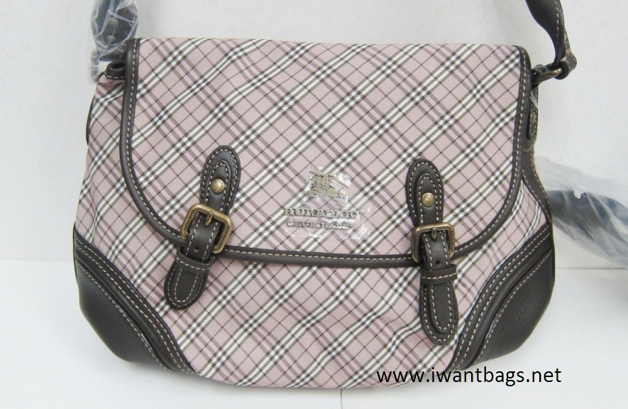 023345bc77b6 I Want Bags backup  Burberry Blue Label Mircrocheck Shoulder Bag
