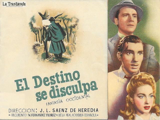 El Destino se Disculpa - Programa de Cine - Rafael Durán - Fernando Fernán Gómez