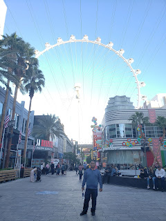 The High Roller at The LINQ in Las Vegas Nevada