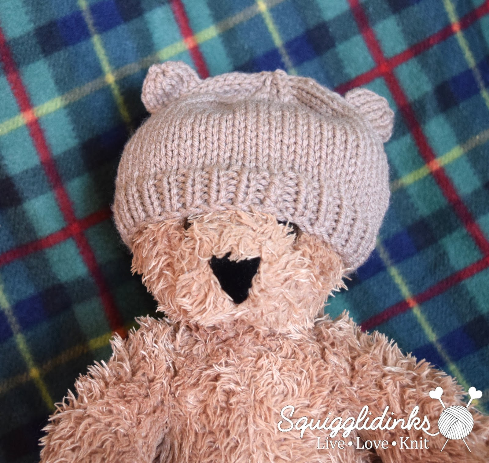Squigglidinks baby bear hat knit two together k2tog bankloansurffo Choice Image