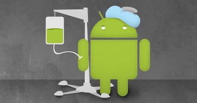Erro no Android - imagem retirada do Google