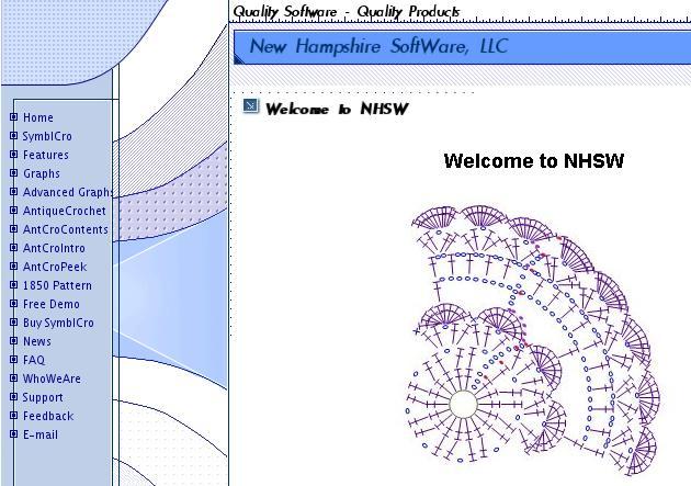 Rysowanie wzorów szydełkowych online