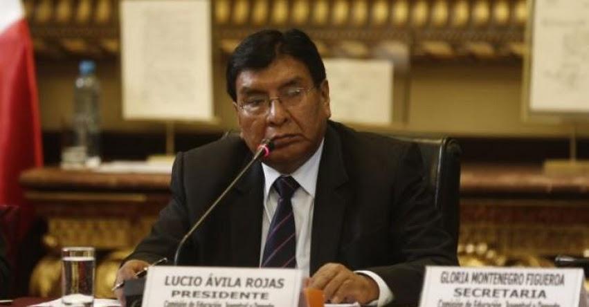 Comisión de Educación del Congreso debatió reforma de la Ley Universitaria