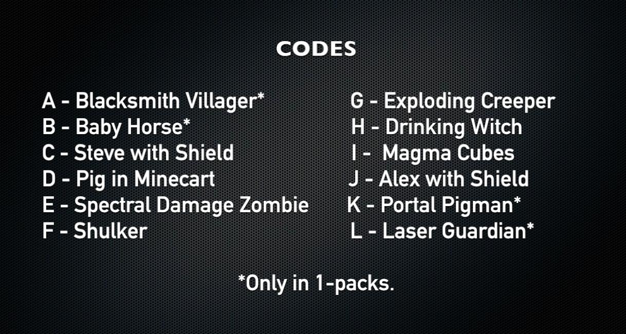 Series 6 The End Psa Minecraftminifigures