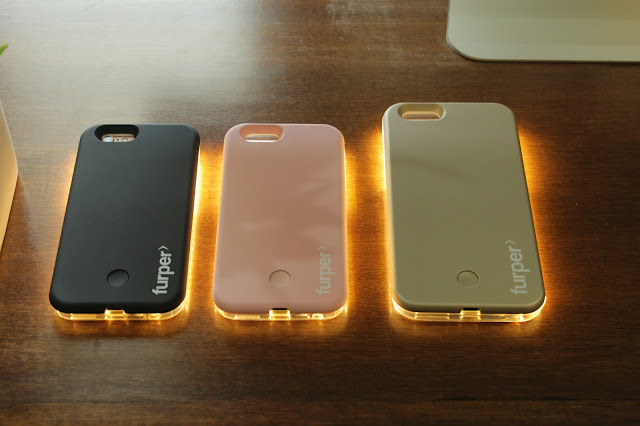 Now Brighten Every Selfie With Furper LED Light iPhone Case