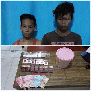 Tertangkap Usai Kehabisan Minyak Motor, 2 Pelaku Pencurian Digelandang Polisi ke Sel