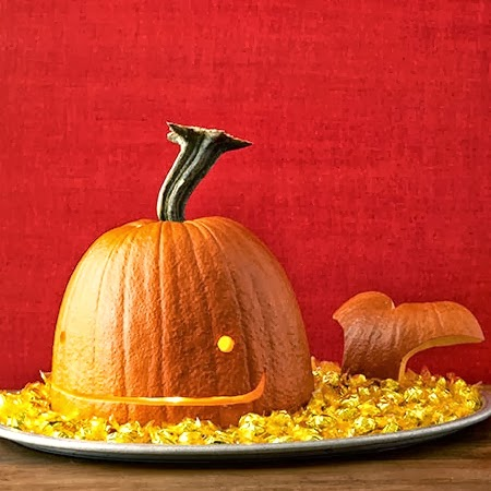 Carving coastal pumpkins