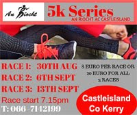 5k Series in Castleisland, Kerry