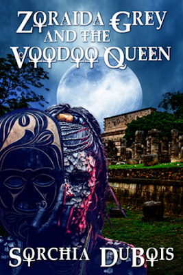 Zoraida Grey and the Voodoo Queen (Zoraida Grey Series #2) by Sorchia DuBois, reviewed by Charity Rowell at On My Kindle Book Reviews