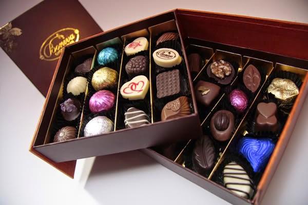 In hộp bánh socola đẹp