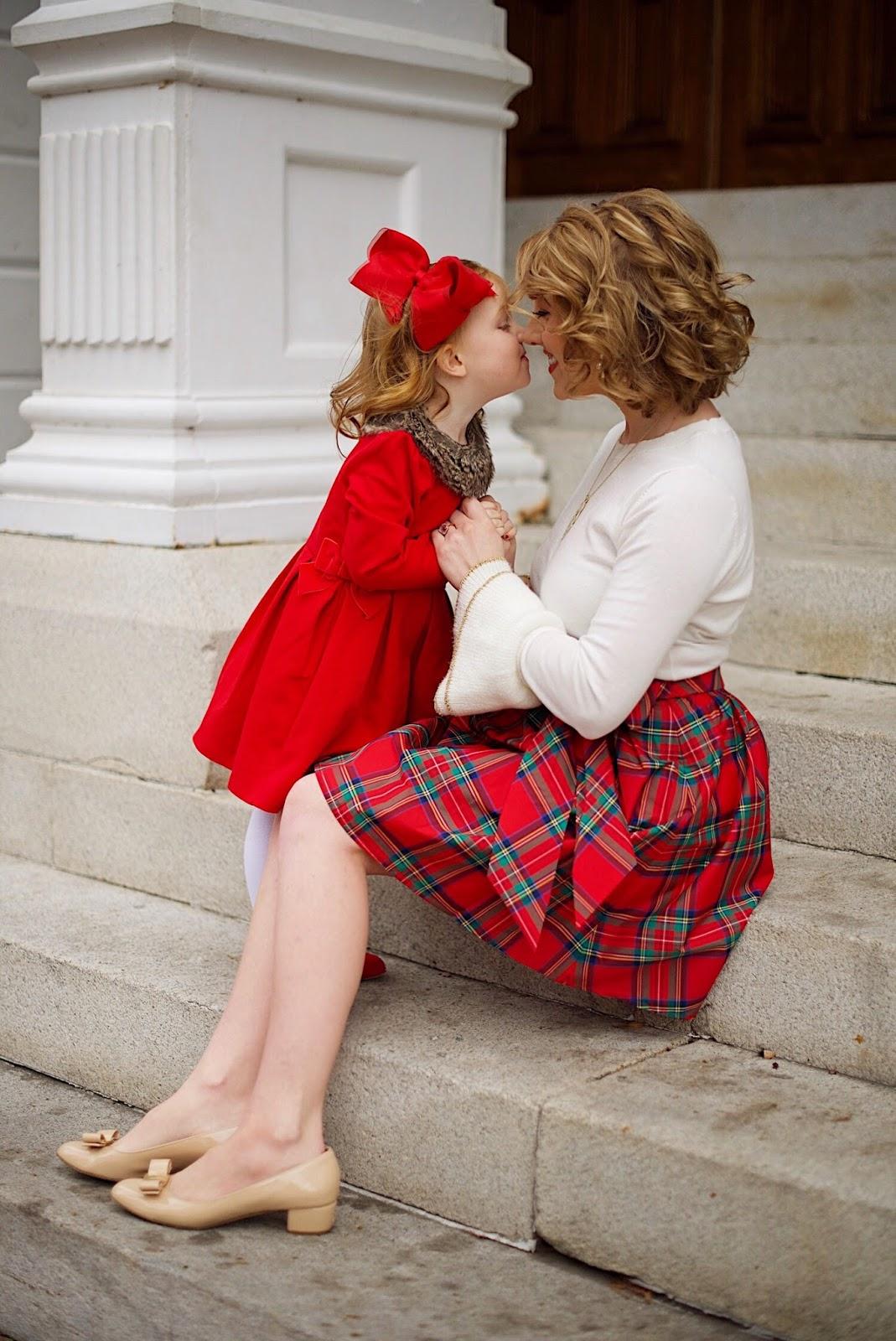 Mommy & Me Holiday Style - Something Delightful Blog