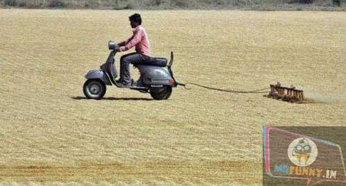 WHEN YOU CAN'T AFFORD A TRACTOR