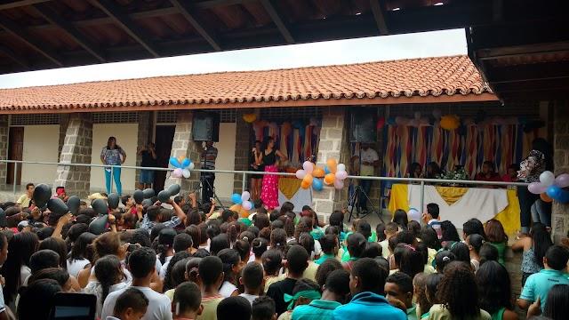 Gincana do Colégio José Pires em Macajuba