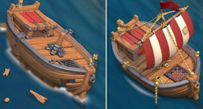 perahu misterius coc