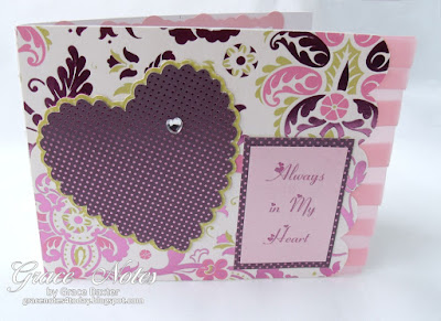Daughter valentine, designed by Grace M. Baxter