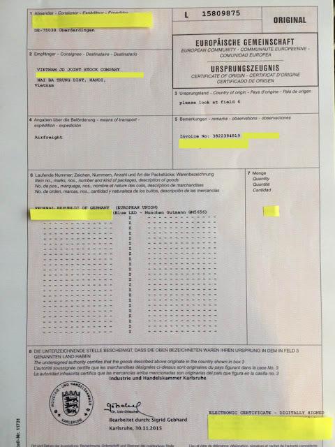 Làm sao biết được bếp từ munchen GM 5656 có phải nhập khẩu nguyên từ Đức