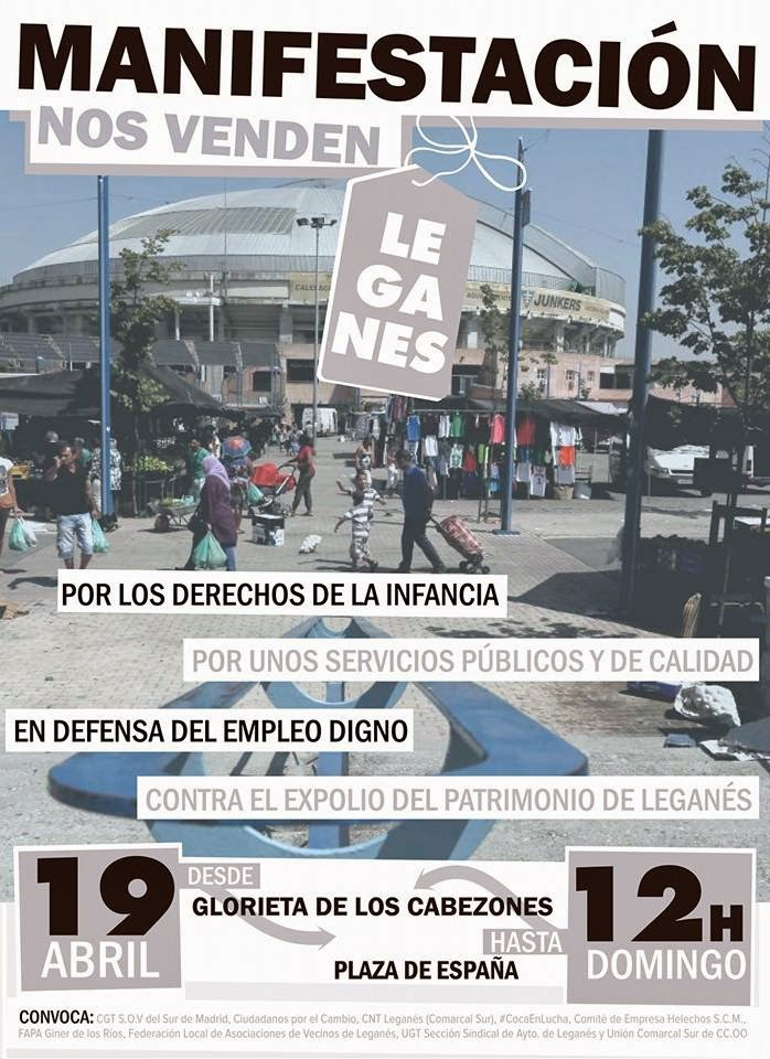 19 de abril, en Leganés, imprescindible