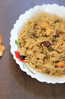 Gur ke chawal is traditional punjabi sweet rice recipe.