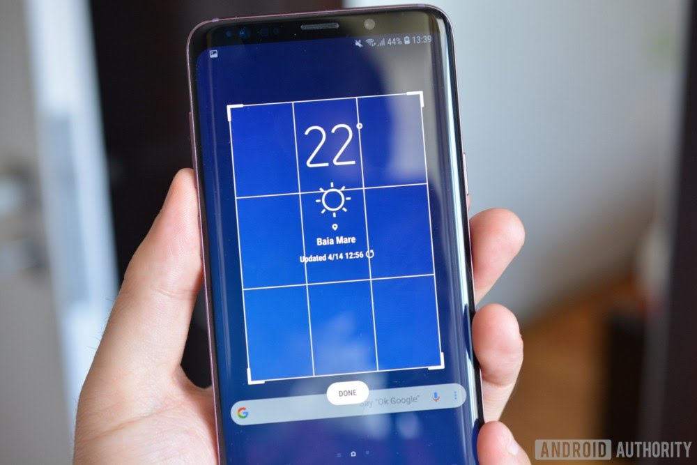 How to take a screenshot on Samsung Galaxy S9 and S9 Plus - Smart Select
