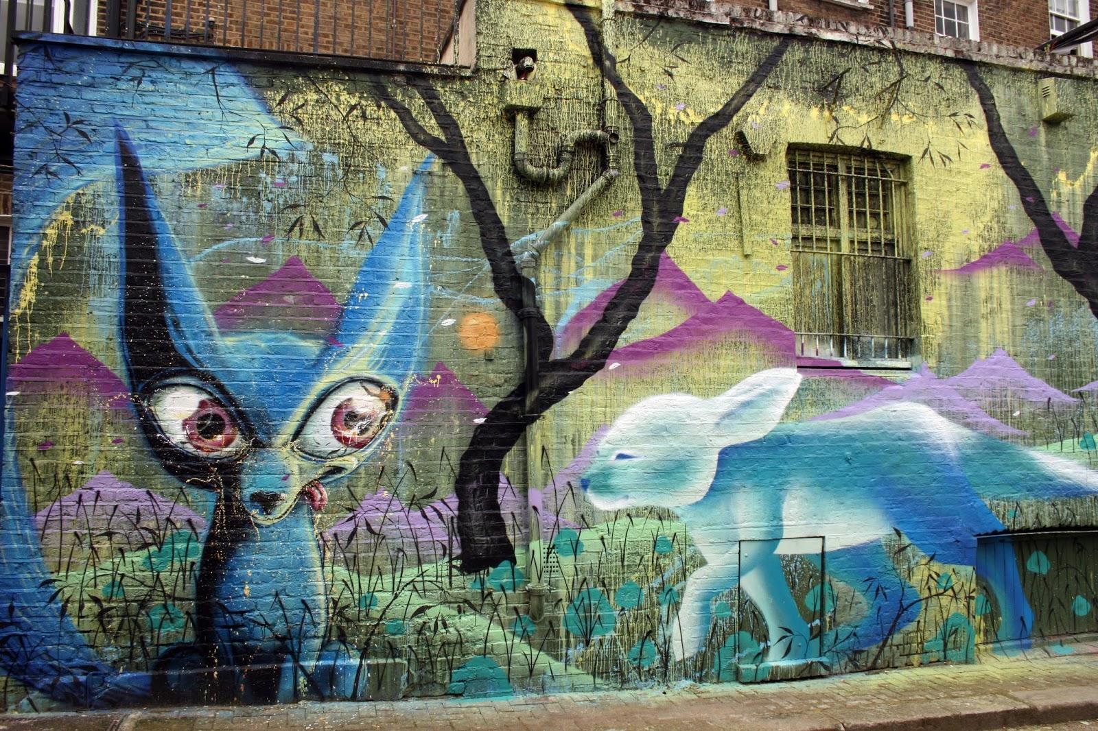 Street Art London: Camden Post 2: : Hawley St: Himbad, Marina Zumi ...