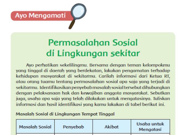 File Pendidikan Jawaban Soal-soal Pembelajaran 4 Subtema 3 Tema 6 Kelas 5 Kurikulum 2013