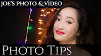 How To Photograph People In Front Of Christmas Lights - Photography Tips