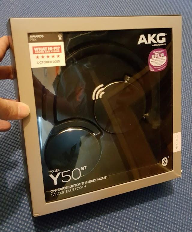 初「試」締聲 AKG Y50BT