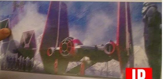 leaked tie fighter artwork