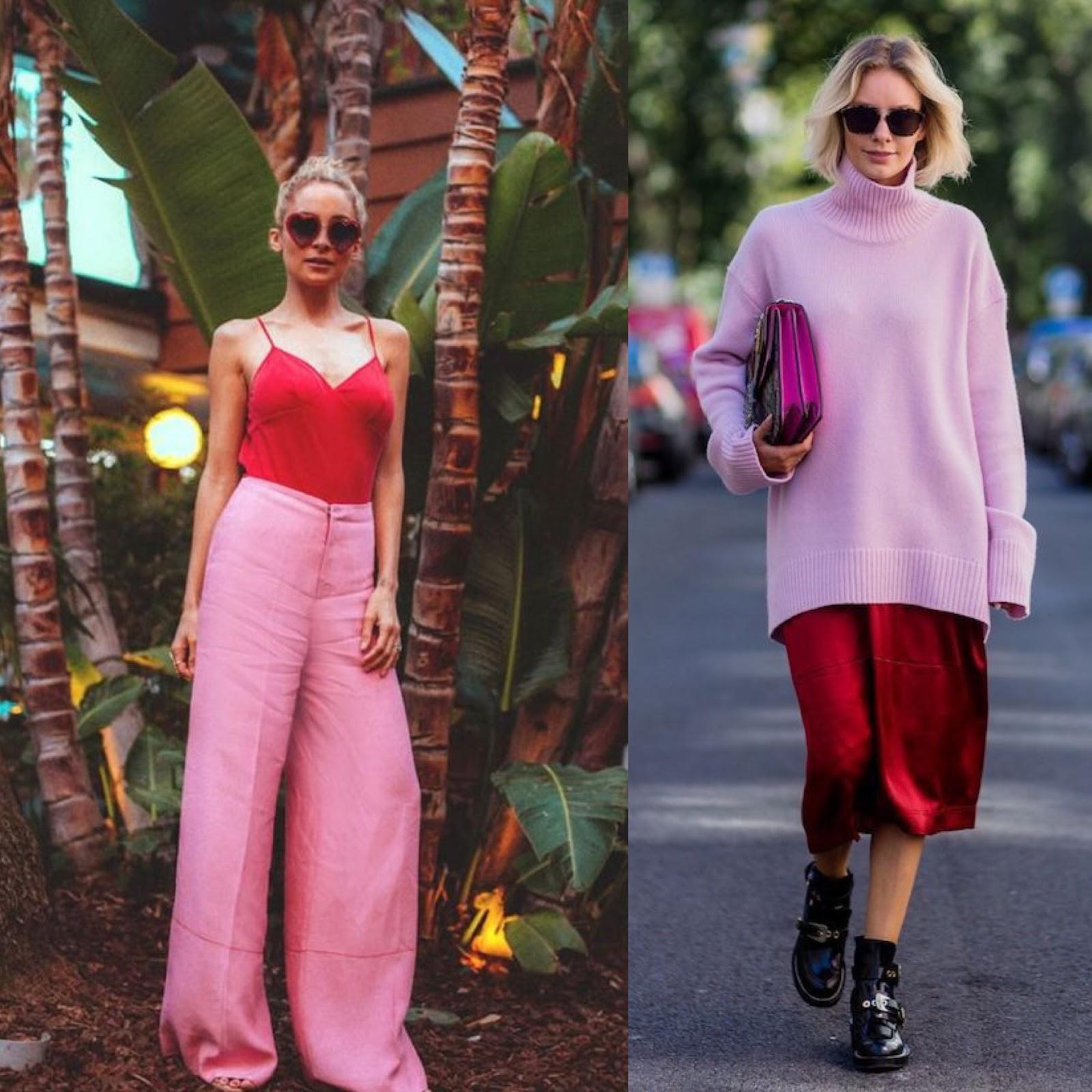 look-moda-tendencia-vermelho-e-rosa-make-inspiração-nicolymillanez