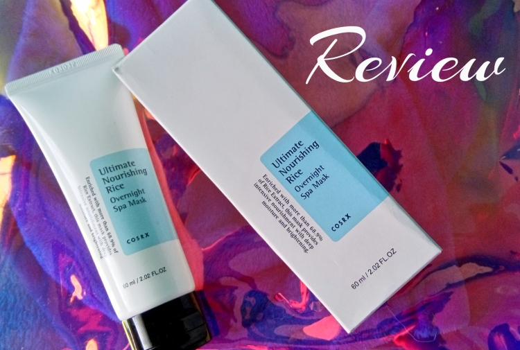 Review: COSRX Ultimate Nourishing Rice Overnight Spa Mask