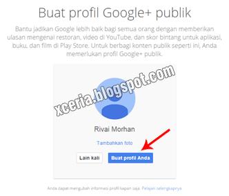 Cara Membuat Email - Profil Google+