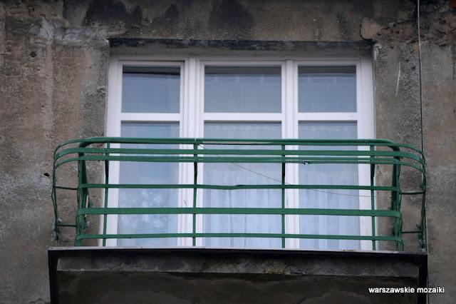 Powiśle Warszawa Warsaw kamienice ulica street modernizm balkon