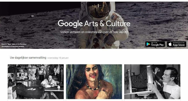 creatief parijs, kunst in parijs, virtuele kunstbeleving, google art institute, google the lab