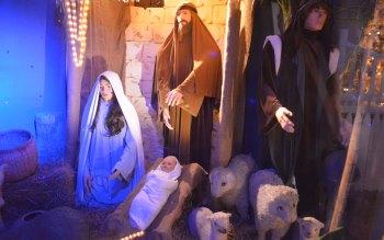Wallpaper: Nativity Scene