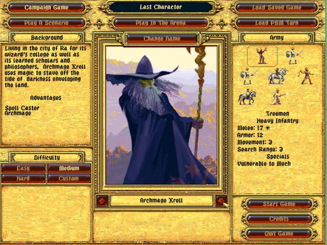 Archmage Leader | Fantasy General Screenshots
