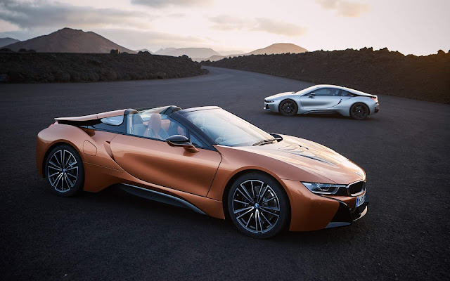BMW i8 2018 Coupé e Roadster