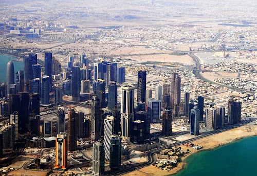 Doha aeiral view