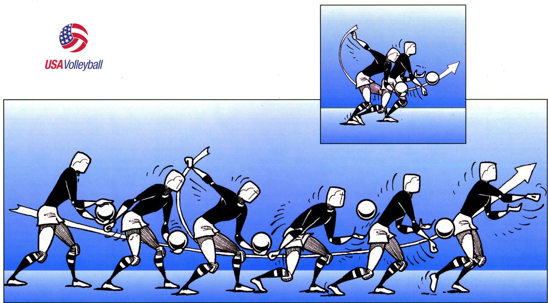 4 Teknik Dasar Bermain Bola Voli Beserta Penjelasan Dan Gambar Markijar Com