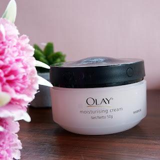 Mad Cherry Change Current Skincare Routine Olay Moisturising Cream