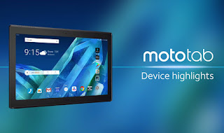 Moto Tab launched with the 10.1 Inches display