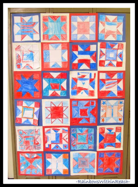 "photo of: Quilt Response to ""Red, White and Blue"" by Debbie Clement"