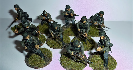 Early War Germans for a Operation Sealion game